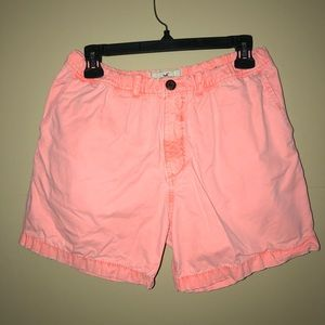 Hollister Men's Neon Shorts